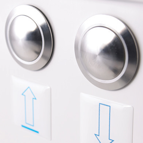 Sentes Reclining Assisted Bath buttons