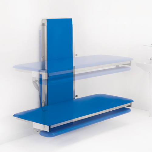 HiRiser Height Adjustable Changing Table Advanced Seating Solutions - Adjustable changing table