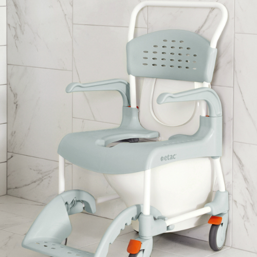 Etac Clean Shower Commode Chair - Advanced Seating Solutions