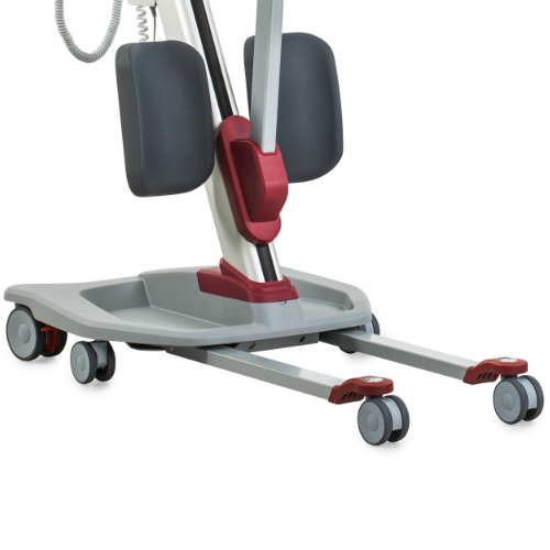 Molift Quick Raiser 205 sit-to-stand hoist is manoeuvrable