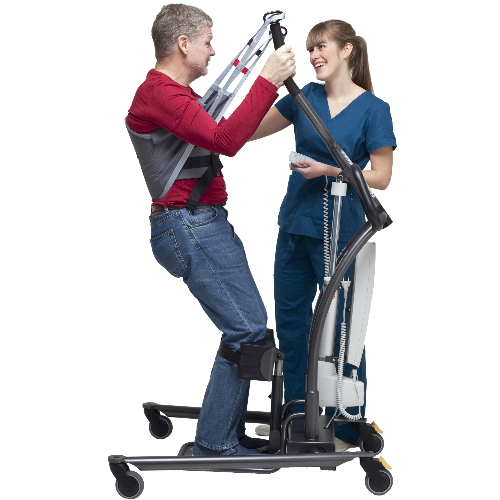 Nova 500 NG sit-to-stand hoist stand up support