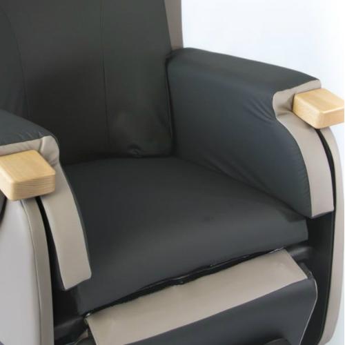 HydroTilt LMS seat depth