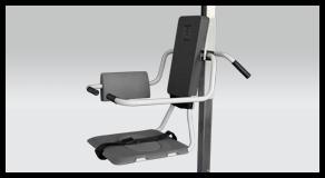 TR 9650 Mobile Bath Chair