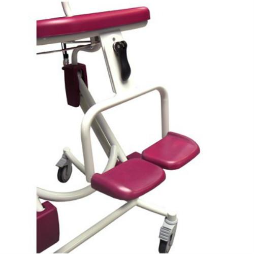 Soflex shower chair footrest