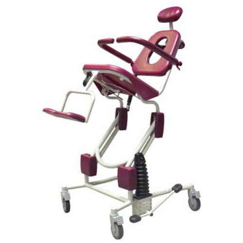 Soflex shower chair tilt in space