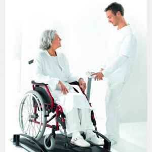 seca 665 electronic wheelchair scales main