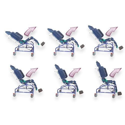 streamline tilt in space shower chair flexible